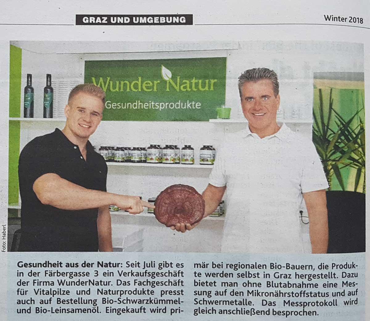 Krone Extra Eröffnung WunderNatur