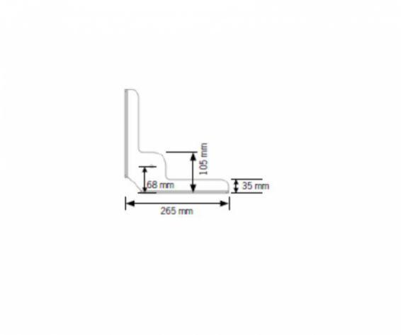 Einbausatz Eckauflagen für Lattoflex – Bild 2