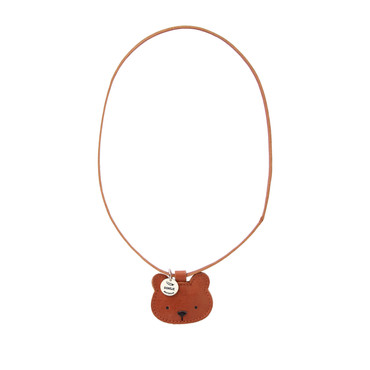 Donsje Leder Halskette Bear -Wookie Necklace-