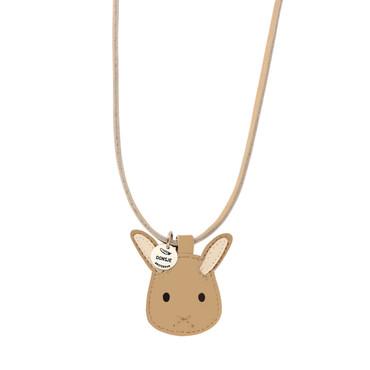 Donsje Leder Halskette Bunny -Wookie Necklace- – Bild 1
