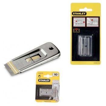 Stanley Ersatzklinge für Glasschaber 0-28-510 40 mm