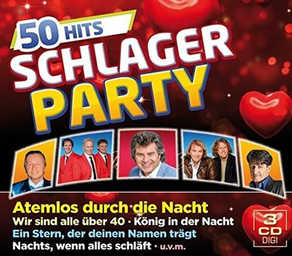 Schlager Party - 50 Hits Box-Set