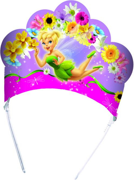 Fairies Springtime - 6 Die-cut Tiaras