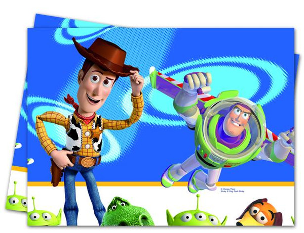 Toy Story Star Power - 1 Plastik Tischdecke 120x180cm