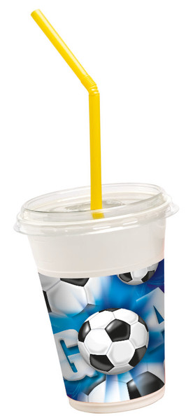 Football - Milkshake Becher packets 36 tlg.