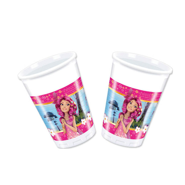 Mia & Me - 8 Plastikbecher 200 ml