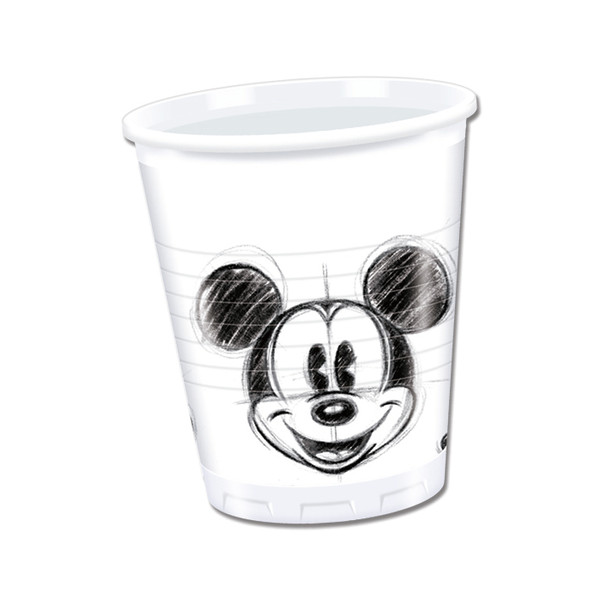 Mickey Faces - 25 Plastikbecher 200ml