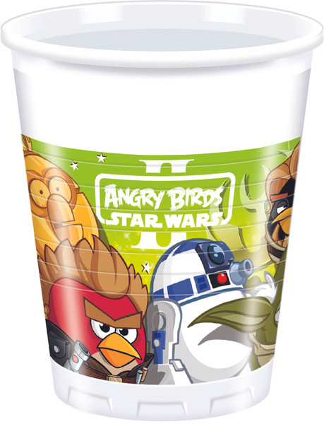 Angry Birds-Star Wars - 8 Plastikbecher 200ml