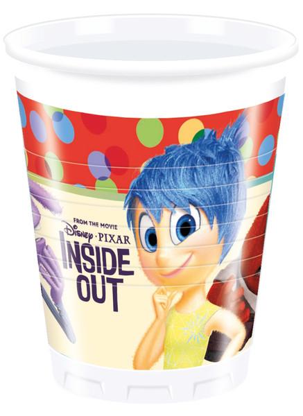 INSIDE OUT - 8 Plastikbecher 200ml