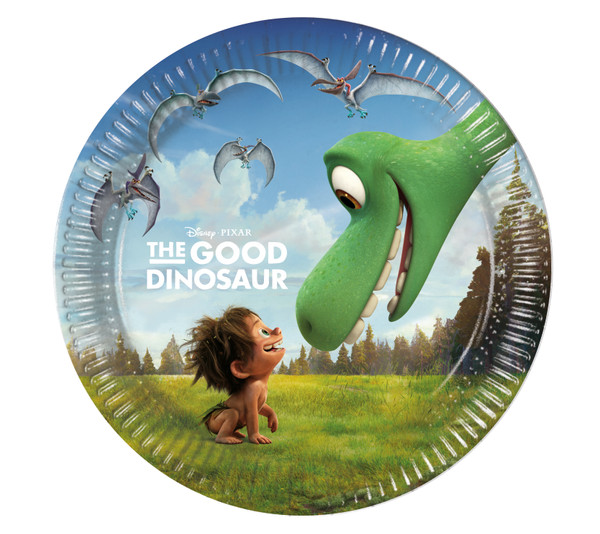 THE GOOD DINOSAUR - 8 Pappteller Medium 20cm