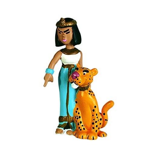 Asterix & Obelix - Figur Kleopatra mit Leopard
