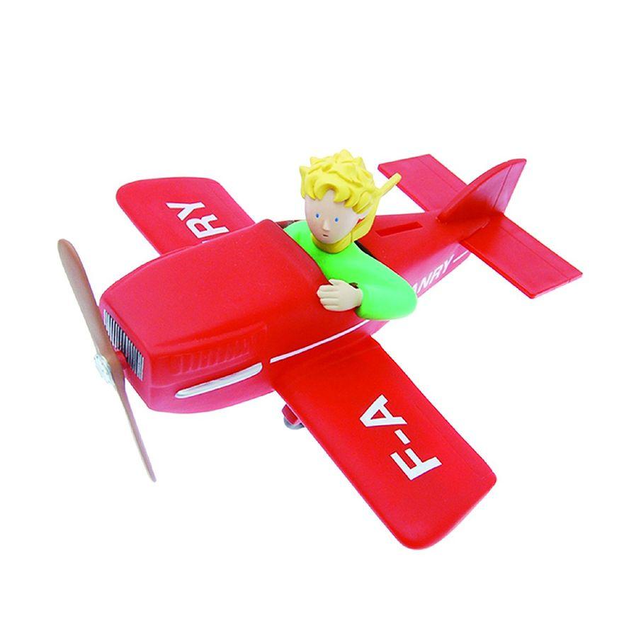 Plastoy 80028 - Spardose - Der kleine Prinz im Flugzeug