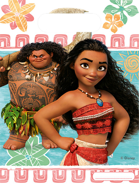 Vaiana - Moana - 6 Party-Tueten