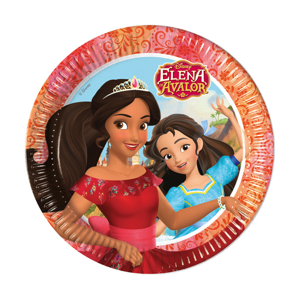 Elena of Avalor - 8 Pappteller 23cm