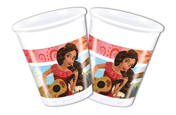 Elena of Avalor - 8 Plastikbecher 200ml