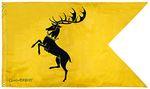 GAME OF THRONES - Flagge Banner Baratheon (70x120cm) 001