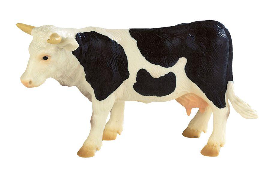 Bauernhof - Kuh Fanny schwarz / weiß - Spielfigur