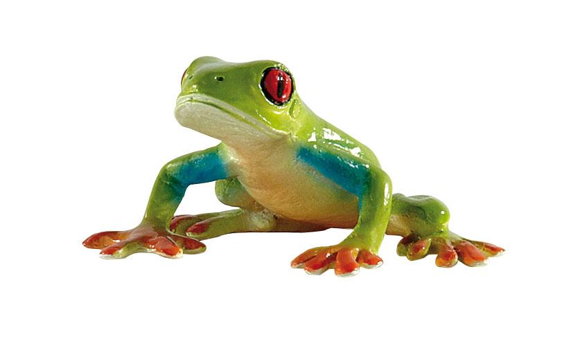 Regenwaldtiere - Rotaugenlaubfrosch - Spielfigur