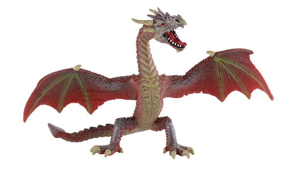 Magic / Fantasy Collection - Drache fliegend rotbraun - Spielfigur