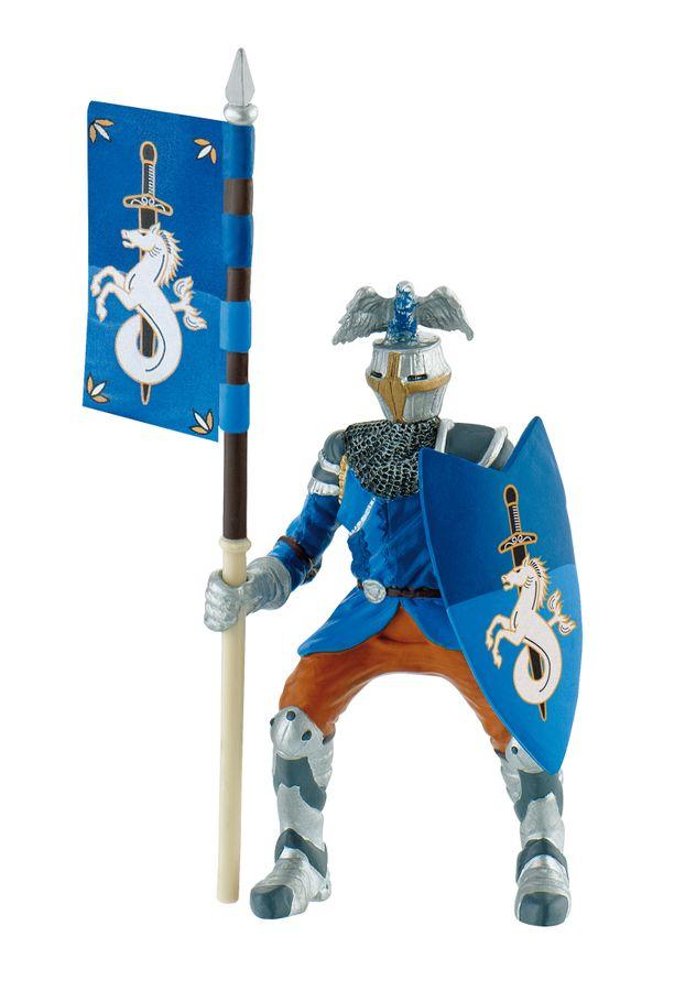 Ritter - Turnierritt?er blau - Spielfigur