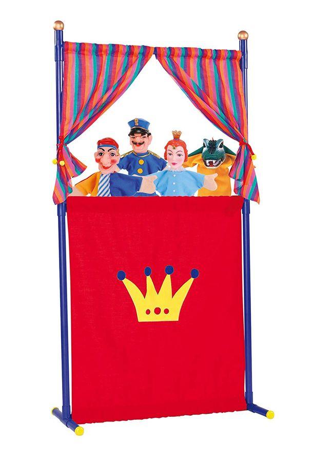 Simba Toys - Puppentheater mit 4 Handpuppen – Bild 1