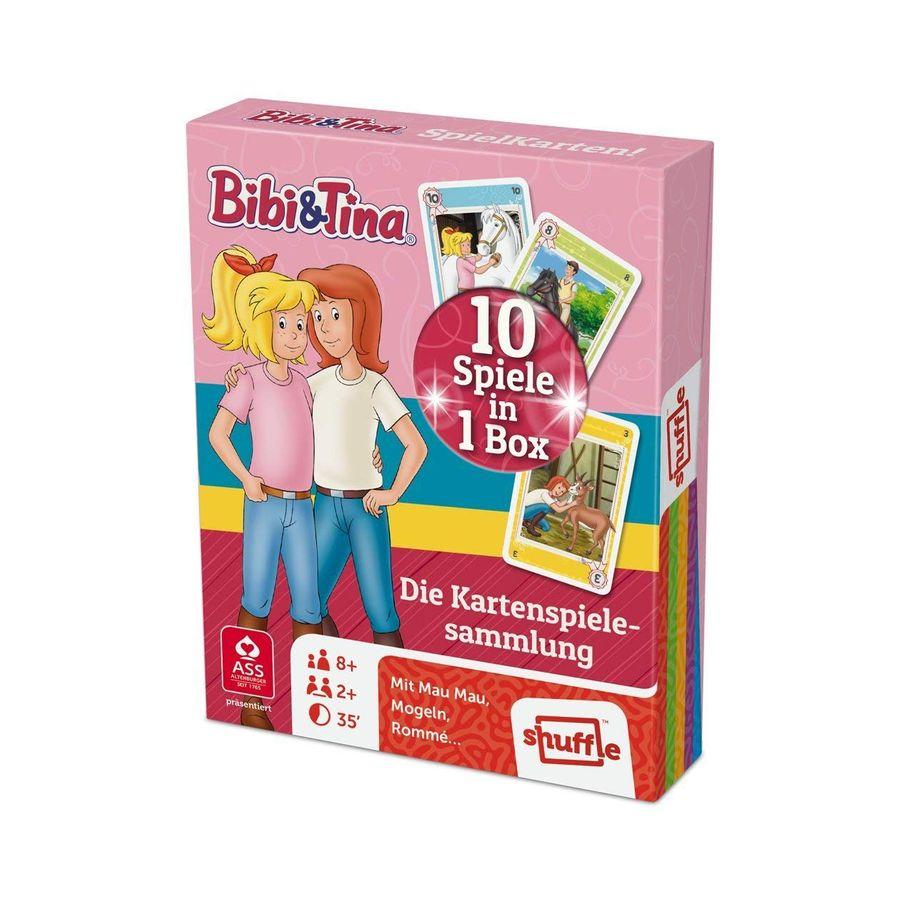ASS22577507 Altenburger - Bibi & Tina - Spielkarten! 10 Spiele in 1 Box – Bild 1