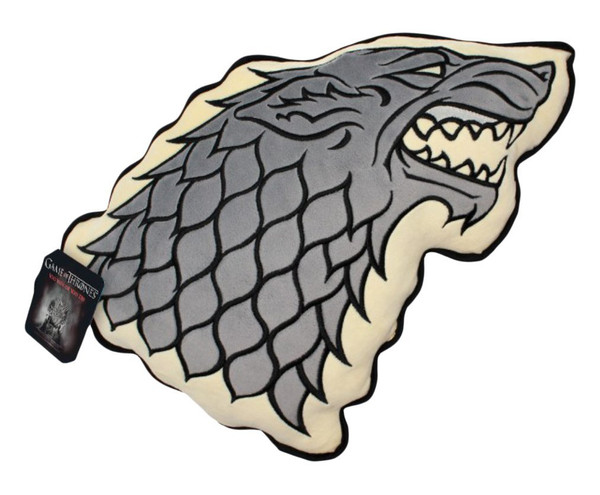 Game of Thrones - House of Stark Plüsch Deko Form Kissen – Bild 1