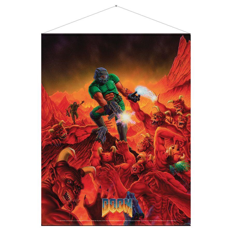 Doom - Wallscroll / Wandposter, Retro