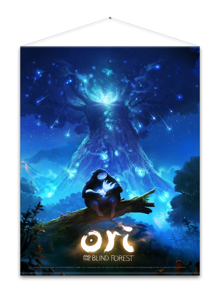 Ori and the Blind Forest - Wallscroll / Wandposter, Keyart