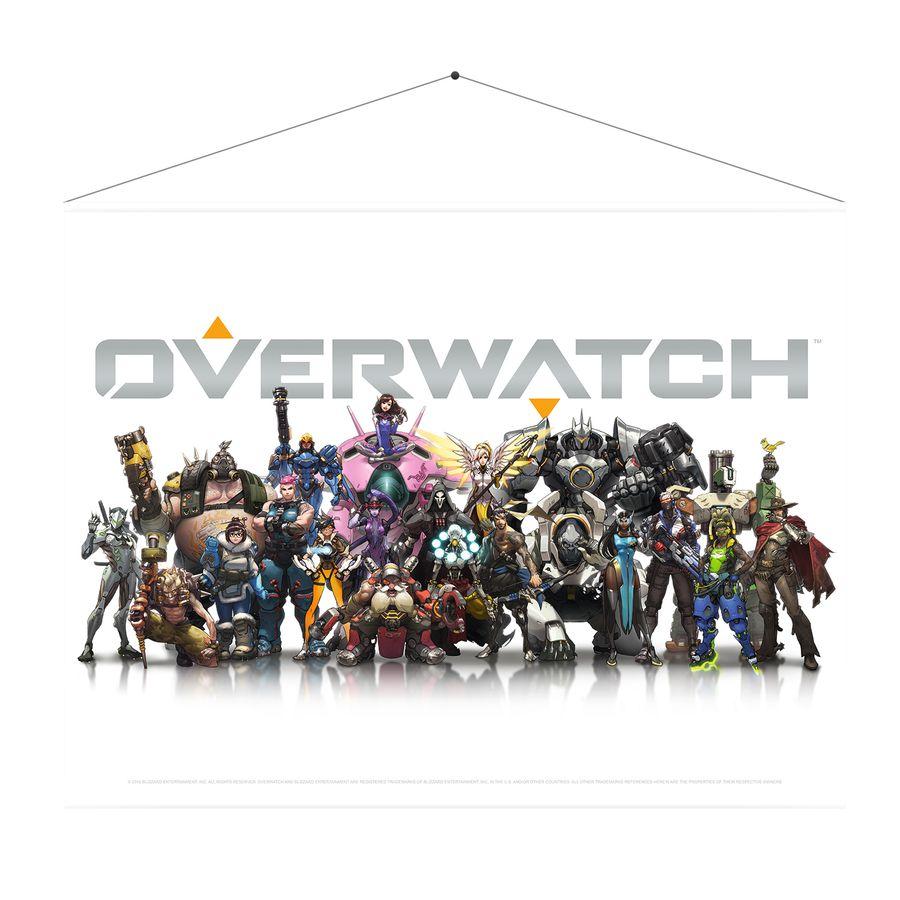 Overwatch - Wallscroll / Wandposter, Heroes