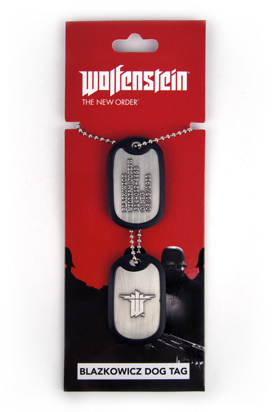 Wolfenstein - Dog Tag, Blazkowicz