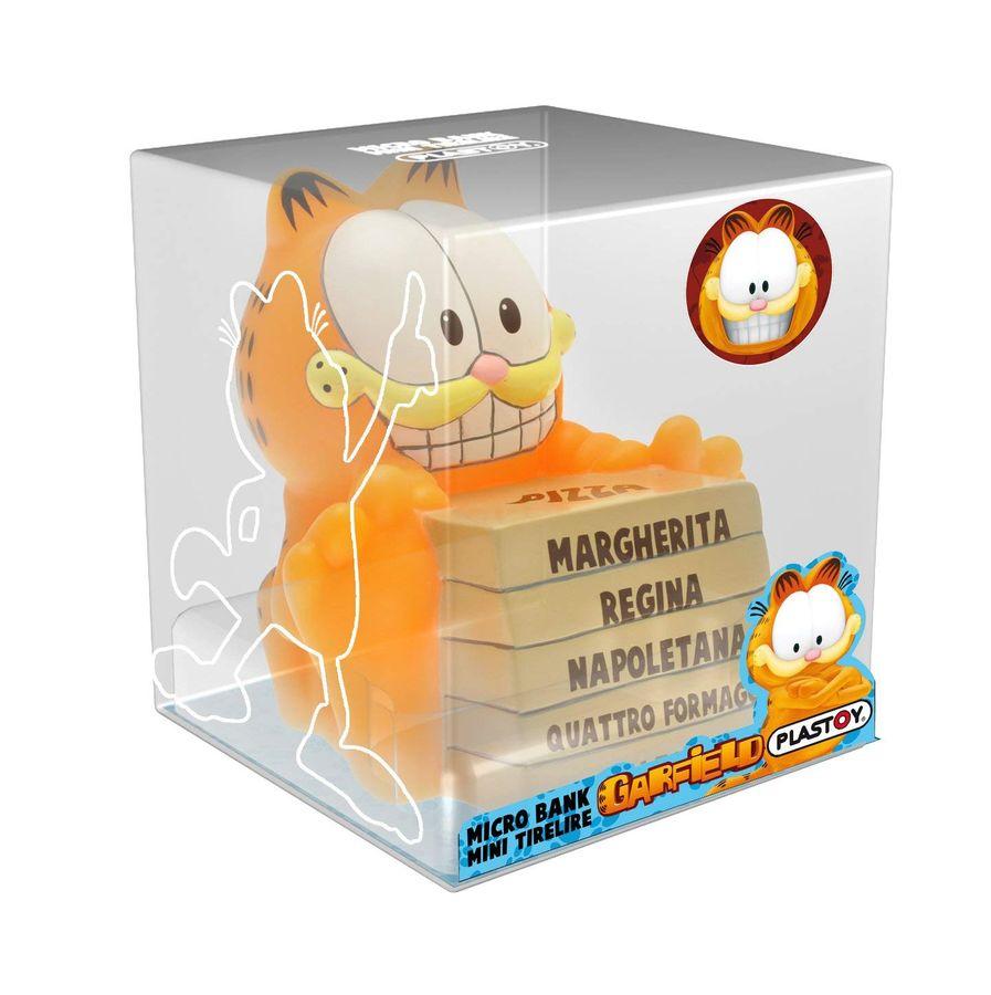 Plasytoy 80051 - Mini-Spardose - Garfield mit Pizza – Bild 2
