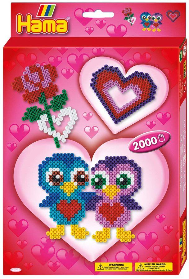 Hama 3438 - Kleine Geschenkpackung, Love