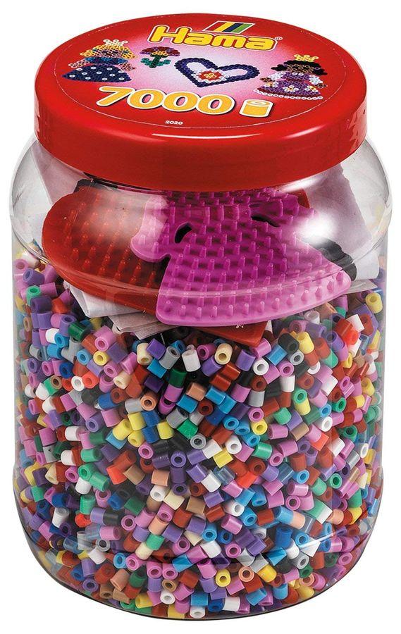 Hama 2020 - Dose mit Perlen und Stiftpaletten – Bild 1