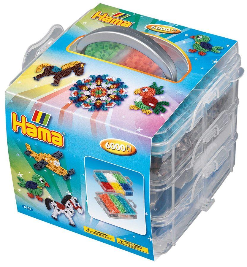 Hama 6701 - Kleine Aufbewahrungsbox, gefüllt – Bild 1