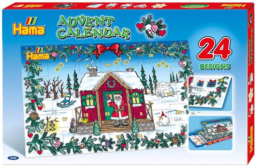 Hama 3040 - Große Geschenkpackung, Adventskalender