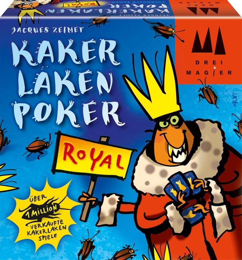 Schmidt Spiele 40866 - Drei Magier Spiele, Kakerlakenpoker Royal – Bild 1