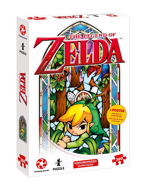 Puzzle - The Legend of Zelda, Link - Boomerang – Bild 1