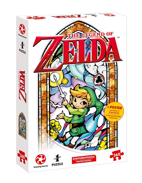 Puzzle - The Legend of Zelda, Link - Wind Waker – Bild 1