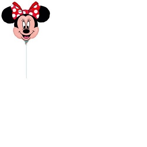 Folienballon Minnie Mouse Kopf Mini Shape