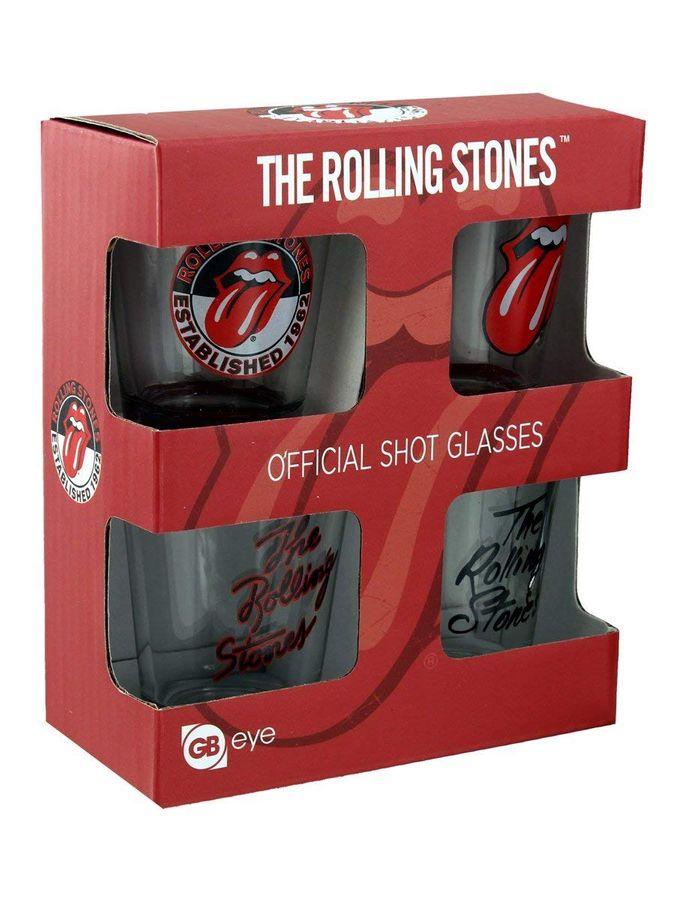 GB Eye - Gläserset, The Rolling Stones (4-teilig) – Bild 1