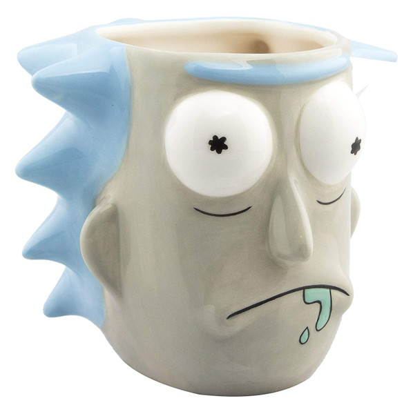 "GB Eye - 3D Tasse, Rick and Morty ""Rick Sanchez"""