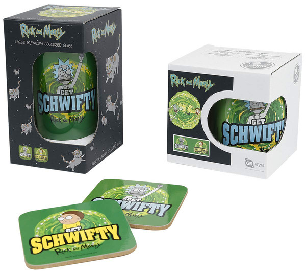 "GB Eye - Geschenkbox, Rick and Morty ""Get Schwifty"" – Bild 2"
