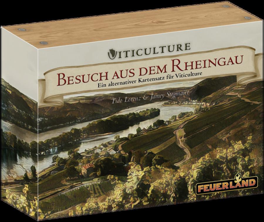 Feuerland Spiele - Viticulture - Besuch aus dem Rheingau - Erweiterung