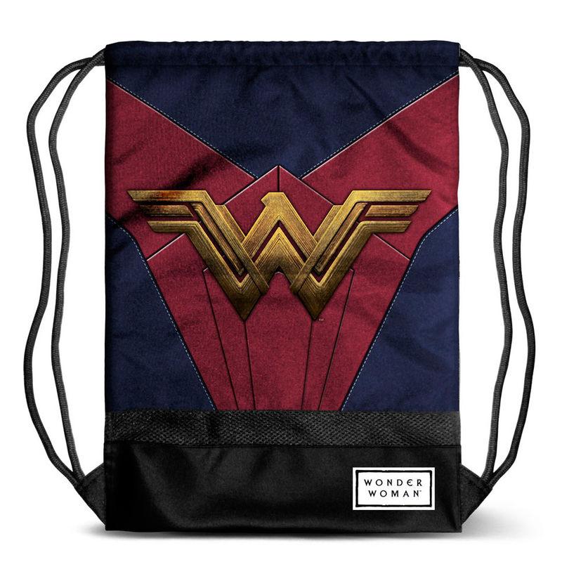 DC Comics - Sportbeutel / Turnbeutel Wonder Woman, 48cm