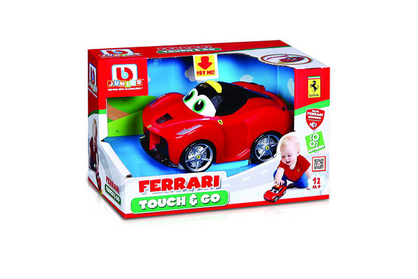 BB Junior Ferrari Touch and Go: Spielzeugauto LaFerrari  – Bild 1