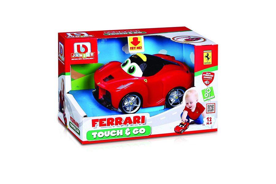 BB Junior Ferrari Touch and Go: Spielzeugauto LaFerrari  – Bild 1