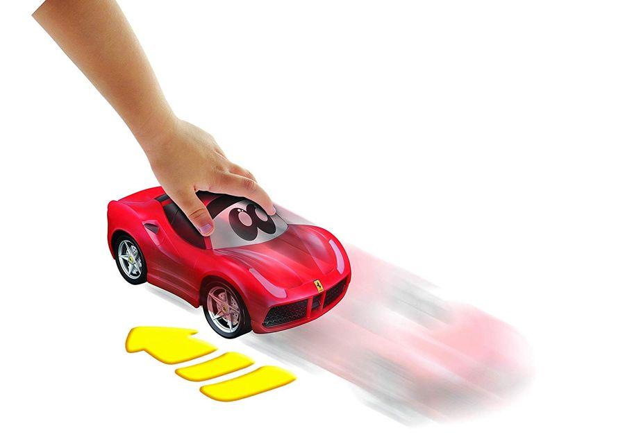 BB Junior Press&Charge: Spielzeugauto Ferrari 488GTB – Bild 2