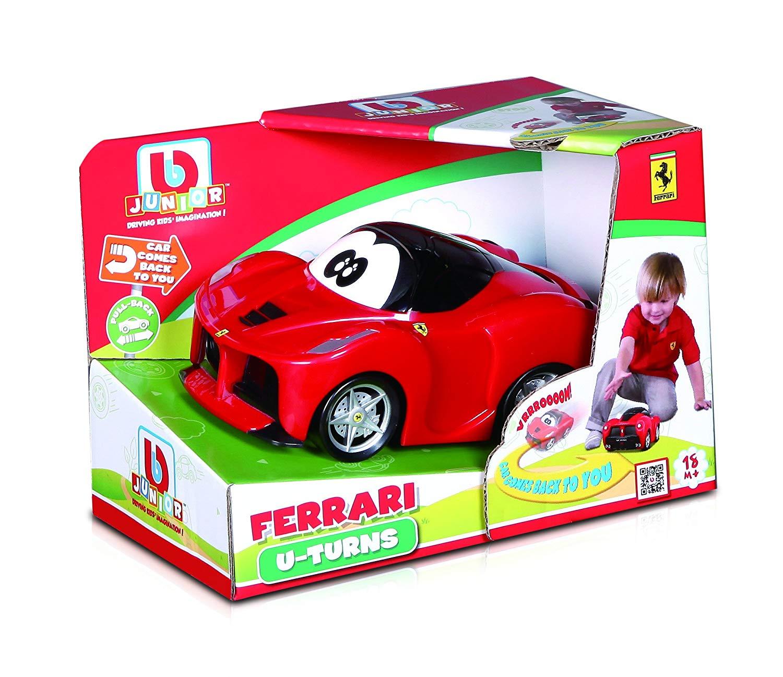 BB Junior U-Turn LaFerrari: Kleinkinder-Fahrzeug mit einzigartiger Pullback-Funktion -  Spielzeugauto