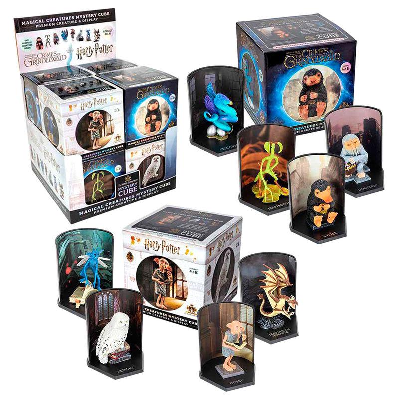 Harry Potter / Phantastische Tierwesen - Statuen Magical Creatures Mystery Cube 9 cm im Display